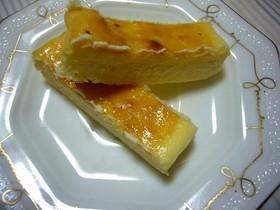 時短簡単チーズケーキ(牛乳パック仕様