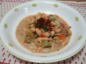 大豆のキャセロール