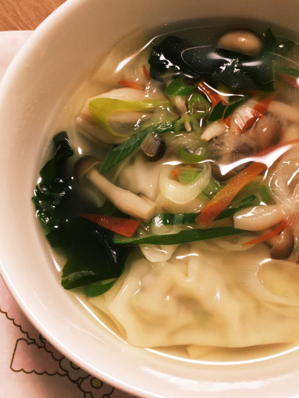 もち麦餃子スープおなかすっきりダイエット