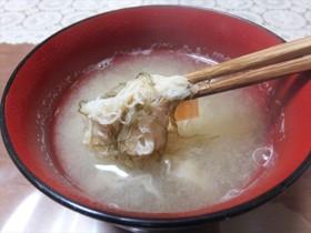 スープジャーで激旨なヤマブシタケの味噌汁
