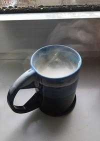 簡単!ほうじ茶オレオレンジ風味