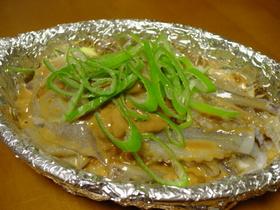 ☆トースターで♪イカゲソの味噌ワタ焼き