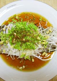 清蒸鮮魚(イサキの中華蒸し)