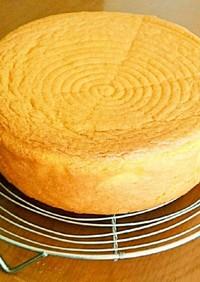 簡単!ノンオイルdeふわふわ共立てケーキ