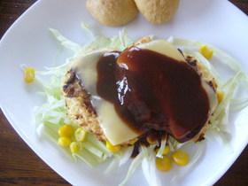 痩せ食材で☆ダイエットハンバーグステーキ