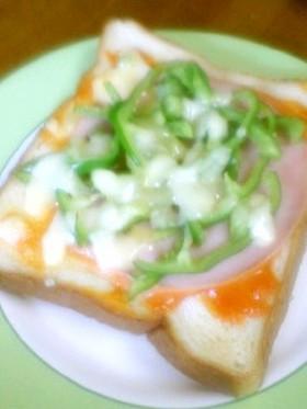 超☆簡単☆ピザトースト