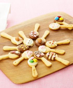 バレンタイン☆HMでスプーンクッキー