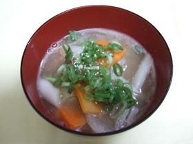 体にやさし~い白練りゴマのスープ
