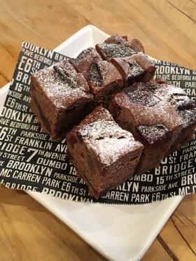 林檎のコンポート★チョコレートケーキ
