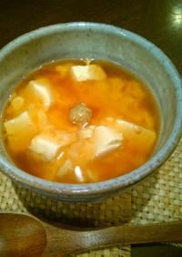 豆腐と鮭のとろろ蒸し