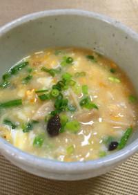 胃に優しい♡山芋と生姜の卵雑炊♡♡♡
