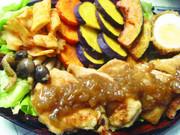 ボリュームも安さも♪鶏ムネ肉ステーキの写真