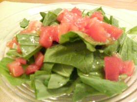 ほうれん草のサラダ