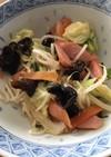 ダシダでレンチン!カット野菜&ソーセージ