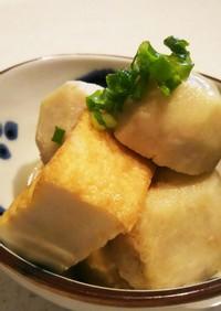 懐かしい☆里芋と厚揚げの炊いたん(煮物)