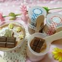バレンタイン♡ヘルシー豆腐チョコプリン
