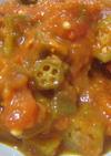 オクラのトマト煮~オクラガンボ風