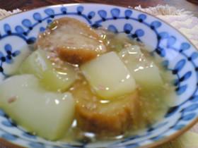 冬瓜と油麩のトロトロ煮