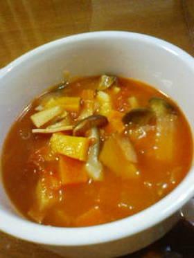 残り野菜どうしてます?うちはトマトスープ