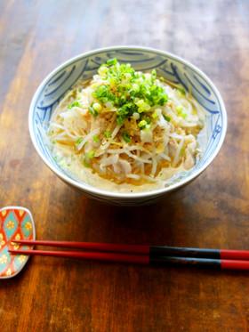 【糖質制限】キャベツ麺の味噌ラーメン