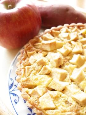 りんごとさつまいものタルト