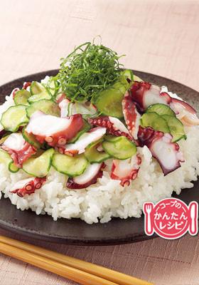 即席たこ寿司