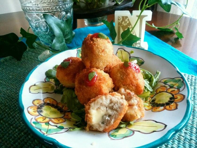 海老芋のチーズコロッケ♪