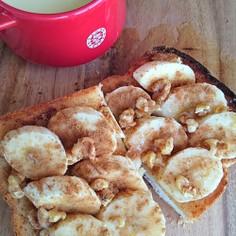 ココナッツオイルdeバナナハニーシナモン