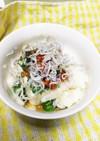 ネバトロ豆腐の和え物