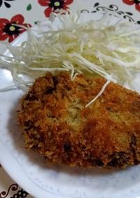 すき焼きコロッケ(残り物リメイク)