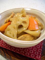 我が家のほっこり根菜の煮物の写真