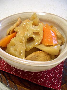 我が家のほっこり根菜の煮物