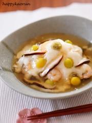 レンジで料亭の味☆白身魚のかぶら蒸しの写真