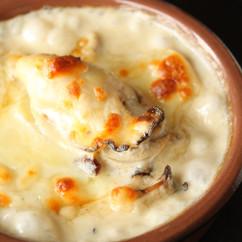 牡蠣と舞茸のグラタン・ドフィノワ