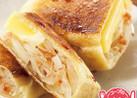 油揚げのチーズたまねぎ焼き