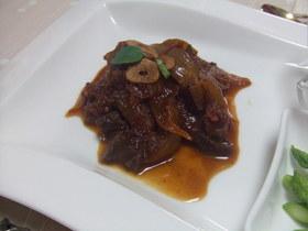 豚肉のトマト煮込み~バルサミコ酢仕立て~