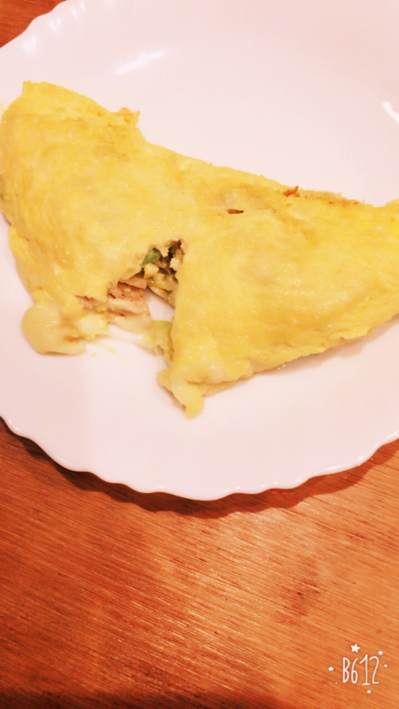 簡単♬ チーズオムレツ