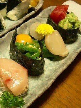 自宅でお寿司♪