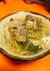 白菜もやし豚肉の中華風とろみあんかけ