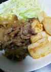 牛肉豆腐のすき焼き風煮