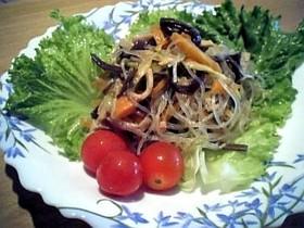 レンジでチン☆7分で中華やさん春雨サラダ