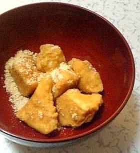 簡単❤豆腐でわらび餅!?