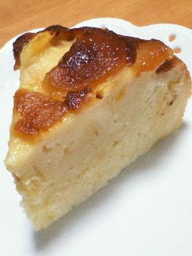 炊飯器任せ★桃のヨーグルトケーキ