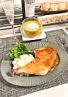 ローストチキン オレンジマスタードソース