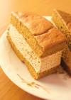 糖質制限◆とろ生カステラ風コーヒーケーキ