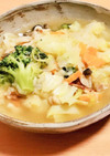 お腹に優しい素材だけ野菜スープ♡
