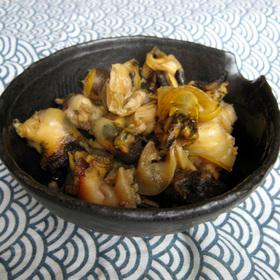 簡単!生姜とつぶの甘醤油煮