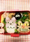 キャラ弁☆ジブリ☆トトロと猫バス達
