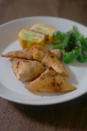 お弁当に♬魚や肉の韓国風みそ漬け焼き