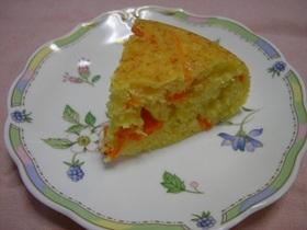 炊飯器 de フルーツキャロットケーキ